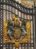 Poorten 01 van het Buckingham Palace Stock Afbeeldingen