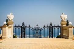 Poorten aan paradijs Royalty-vrije Stock Afbeeldingen