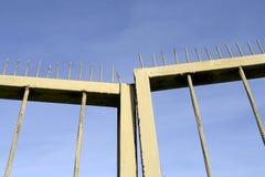 Poorten met prikkelingen stock fotografie