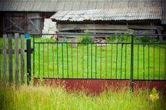 Poorten plattelandsgebied Royalty-vrije Stock Fotografie