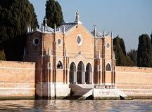 Poorten van de begraafplaats van San Michele Stock Afbeelding