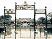 Poorten van de verboden stad Stock Foto's