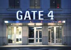 Poortingang aan Yankee Stadium Stock Afbeelding