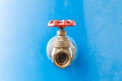 Poortklep in huishouden, industrieel, landbouw en sanita wordt gebruikt die Royalty-vrije Stock Foto's
