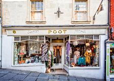 Poot shop front in Frome Royalty Free Stock Image