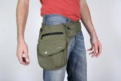 popędzają torby płci męskiej torby Zdjęcia Royalty Free