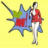 Pop-art Stock Afbeelding