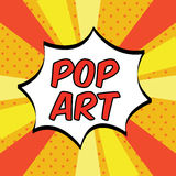 Pop art Fotografia Stock