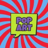 Pop art Fotografia Stock Libera da Diritti