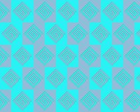 Pop Art Alternate Greeks Pattern Blue Pink Royalty Free Stock Photo
