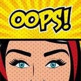 Pop Art And Comic Design Royalty Free Stock Photos