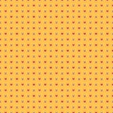 Pop Art Background mit Sternen und Herzen Lizenzfreie Stockfotografie