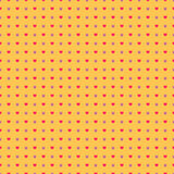 Pop Art Background with stars and hearts Royalty Free Stock Photography