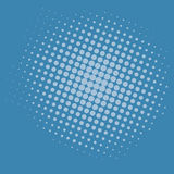 Pop Art Blue Background Vector Template Design Royalty Free Stock Images