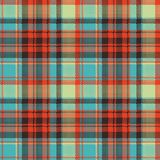 Pop art color check plaid pixel seamless fabric texture royalty free illustration