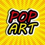 Pop art and comic design Stock Photos