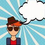 Pop art comic. Design, vector illustration eps10 graphic Royalty Free Stock Photos