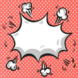Pop art Comic exploding. Comic exploding background pop art style vector Royalty Free Stock Photos