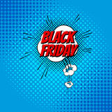 Pop art comic sale discount promotion vector illustration Royalty Free Stock Images