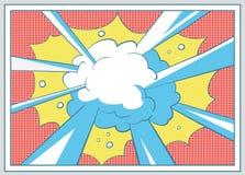 Pop art comico royalty illustrazione gratis