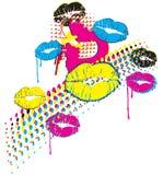 POP ART design Royalty Free Stock Images