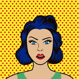 Pop art design. Stock Images