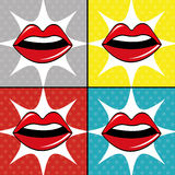 Pop art design. Royalty Free Stock Photos
