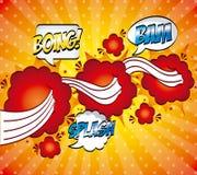 Pop art design Royalty Free Stock Image