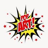 Pop art design Stock Photography