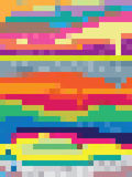 Pop art di Digital con i quadrati variopinti Fotografia Stock Libera da Diritti
