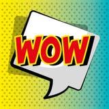 Pop art e bolhas cômicas coloridos Imagem de Stock Royalty Free