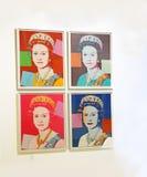 Pop Art Exhibit royalty-vrije stock afbeelding