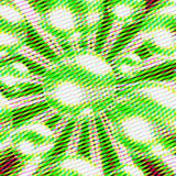 Pop art green abstract background. With white lines, abstract background Royalty Free Stock Images