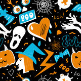 Pop art halloween Royalty Free Stock Photography