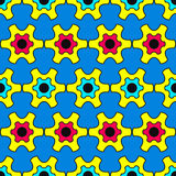 Pop Art inspired background Royalty Free Stock Photo