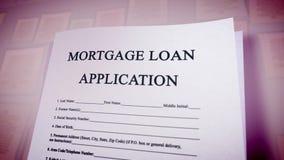 Pop art mortgage loan illustration Stock Photos