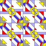 Pop Art Pattern Stock Afbeelding