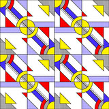 Pop Art Pattern Stock Image