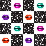 Pop art pattern vector illustration