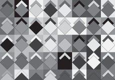 Pop Art Rhombus Pattern vektor illustrationer