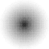 Pop art round elements. Halftone black dots on white background. Pop  art round elements. Halftone black dots on white background Stock Photography