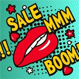 Pop Art Sale Royalty Free Stock Images