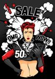 Pop art sale royalty free illustration
