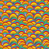 Pop art seamless pattern Stock Photography