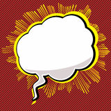 Pop-Art Speech Bubble Royalty Free Stock Image
