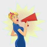 Pop-art style illustration Royalty Free Stock Image