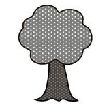 Pop art tree Royalty Free Stock Images