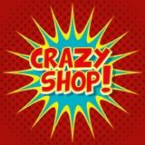 Pop-Art und komische Blasen bunt Lizenzfreies Stockfoto