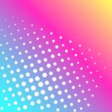 Pop art vector. Background of a color rainbow and white dots. Pop art vector illustration. Background of a color rainbow and white dots vector illustration