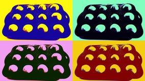 Pop-artbeeld van fig. royalty-vrije stock afbeeldingen